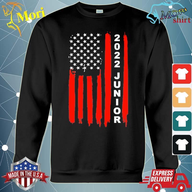 Class of 2022 Junior American flag s hoodie