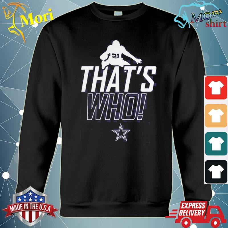 Zeke Who Shirt Cowboys hoodie