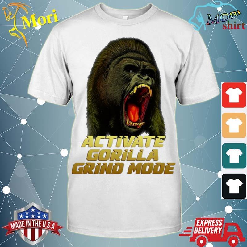 Activate gorilla grind mode herculean max shirt