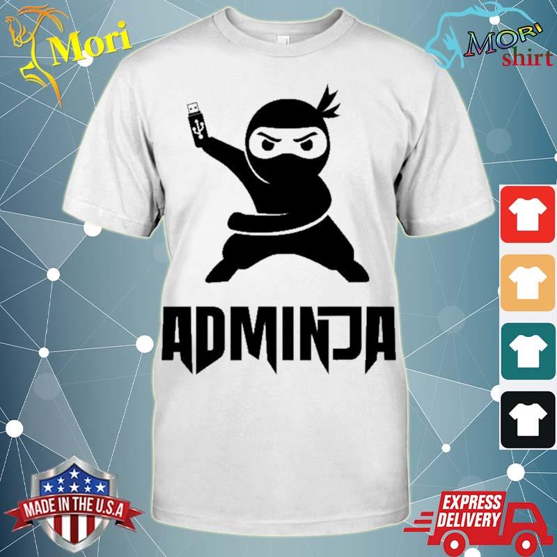 Admin gift funny saying nerd computer specialist shirt