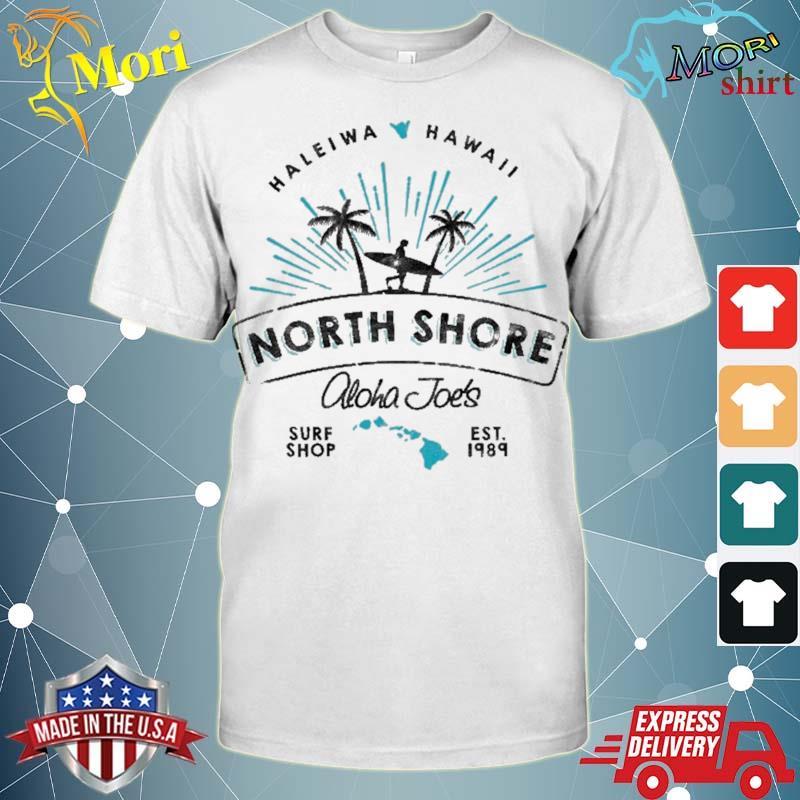 Aloha joe's north shore surf shop shirt