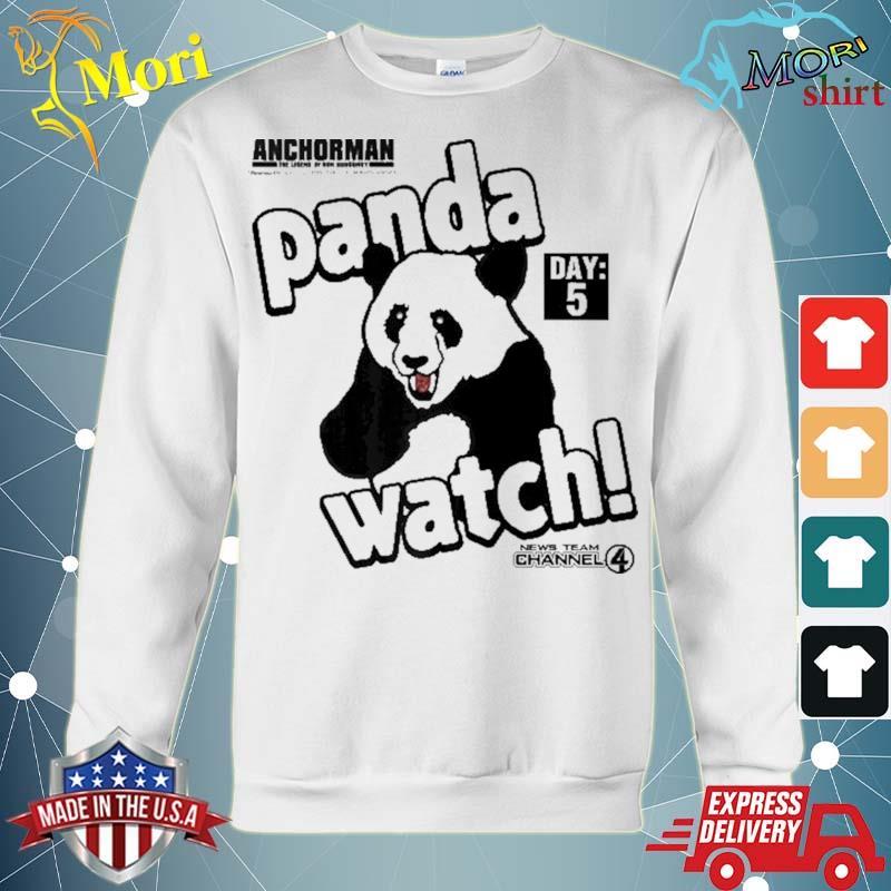 Anchorman panda watch day 5 ver2 s hoodie