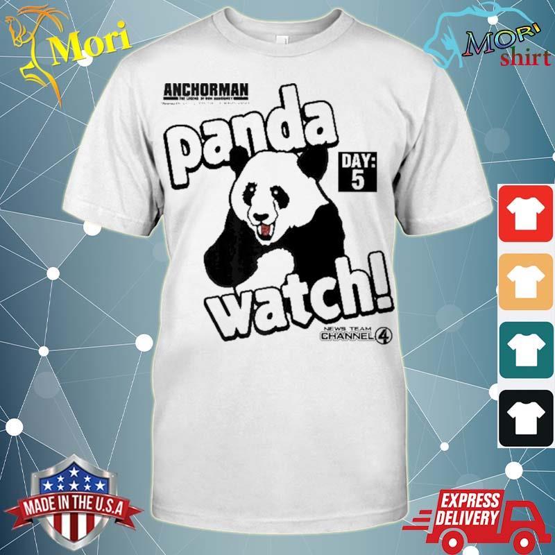 Anchorman panda watch day 5 ver2 shirt