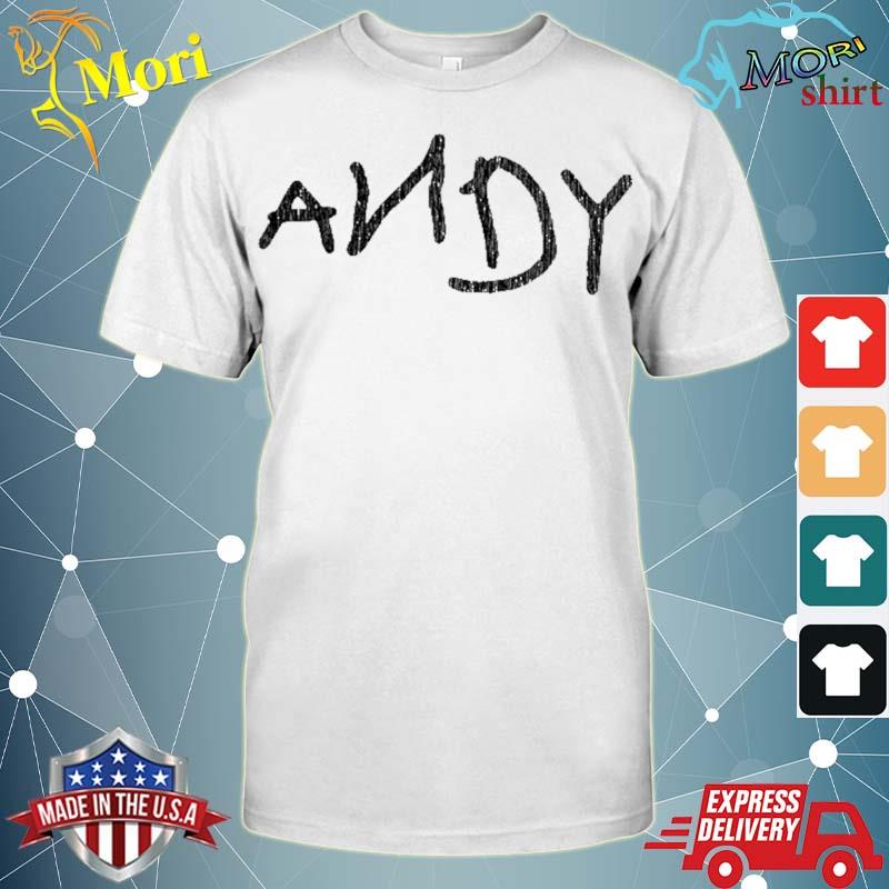 Andy cosplay outfit vintage birthday shirt