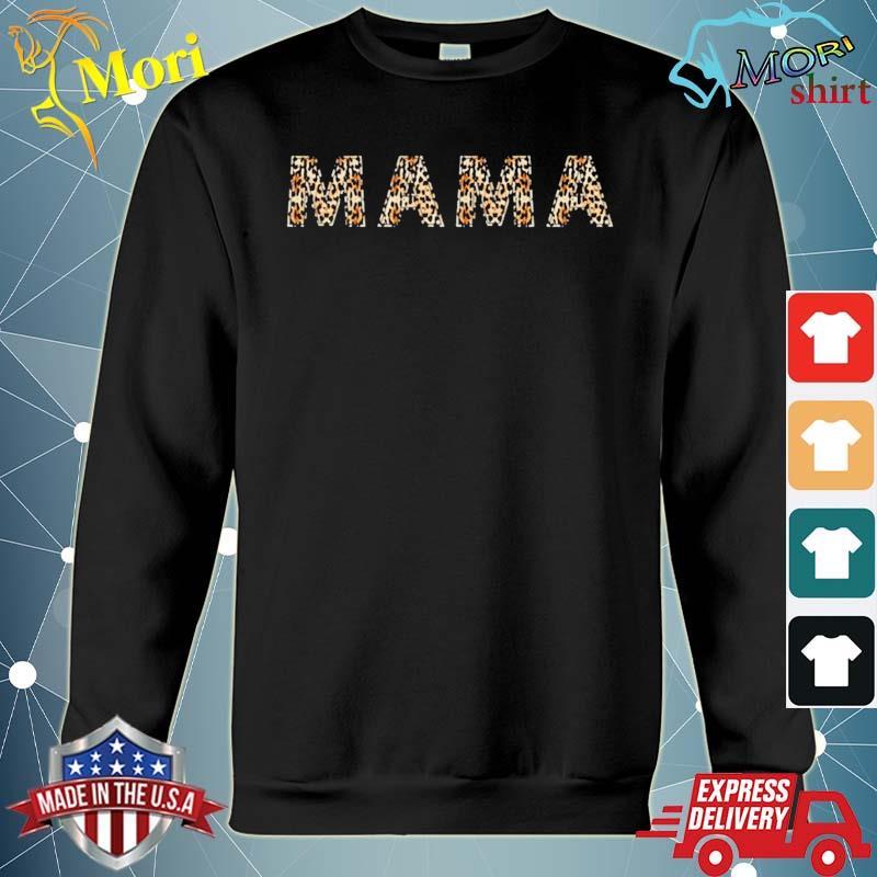 Awesome mama leopard cheetah print s hoodie