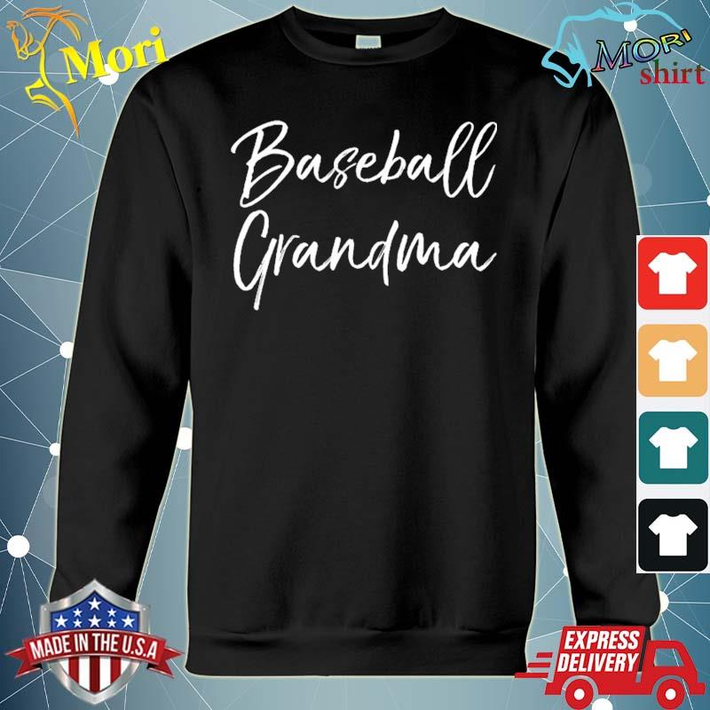 Baseball gift for grandmother mother's day baseball grandma s hoodie