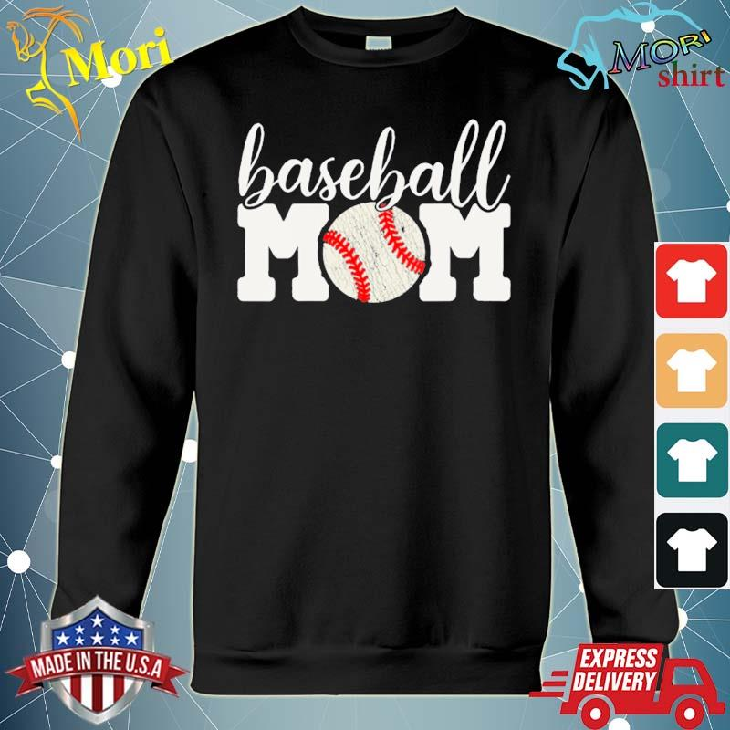 Baseball mom gift cheering mother of boys outfit s hoodie