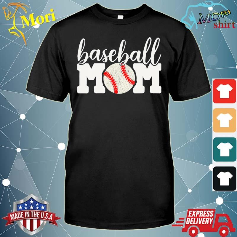 Baseball mom gift cheering mother of boys outfit shirt