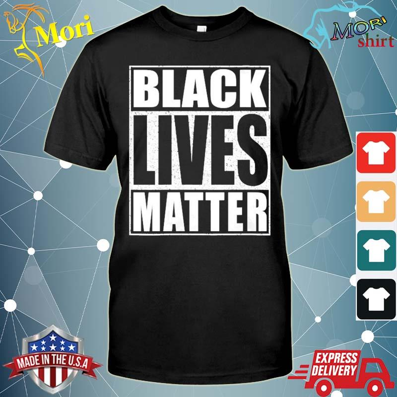 Black lives matter human rights shirt