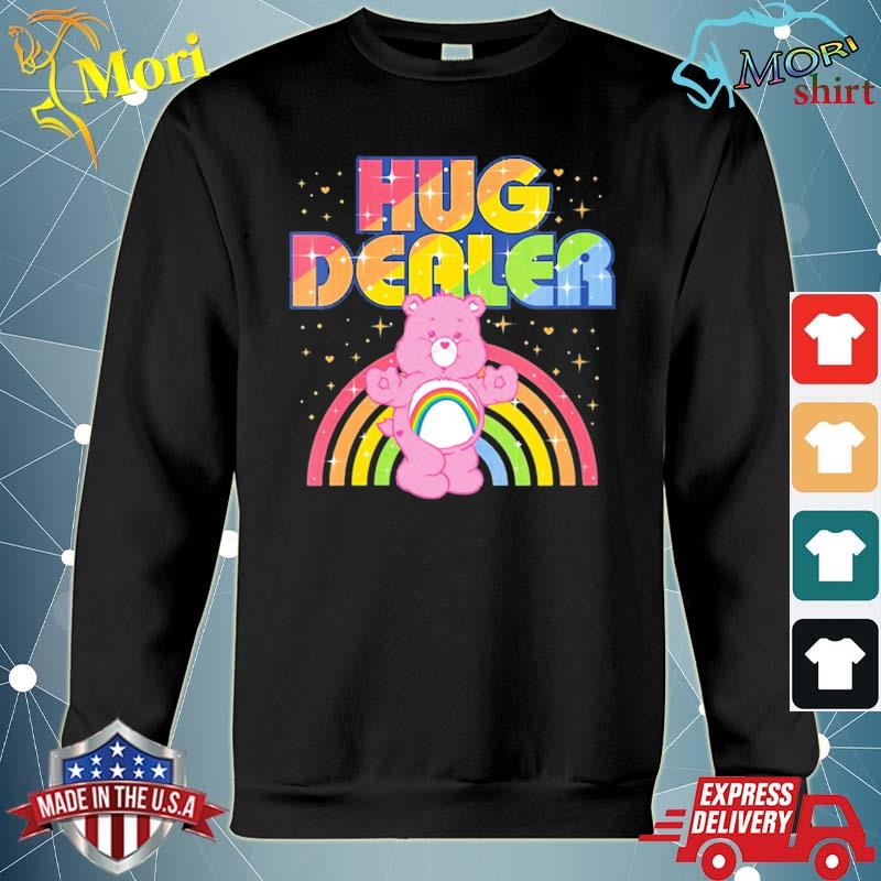 Care bears hug dealer s hoodie