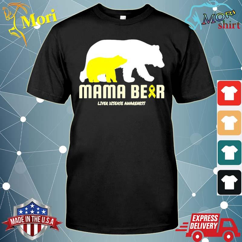 Liver disease mom mother mama awareness shirt