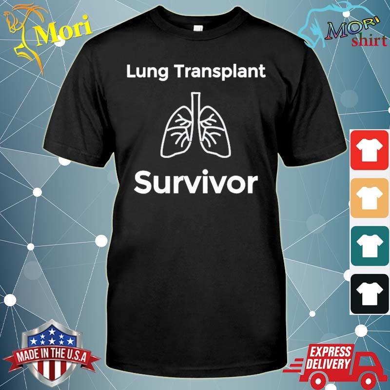 Lung transplant survivor organ donation shirt