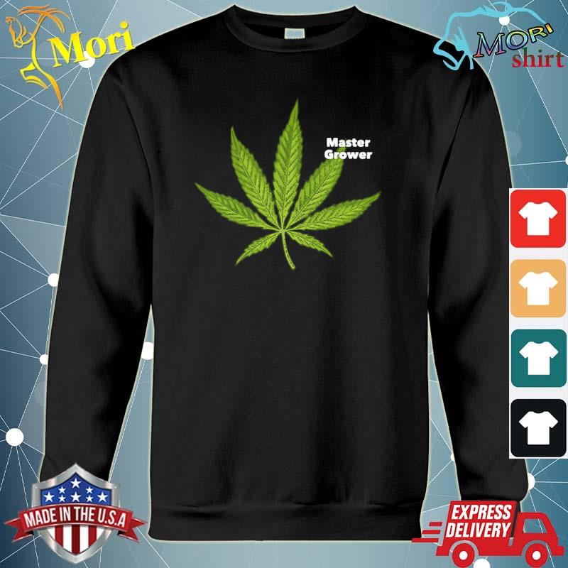 Marijuana leaf master grower s hoodie