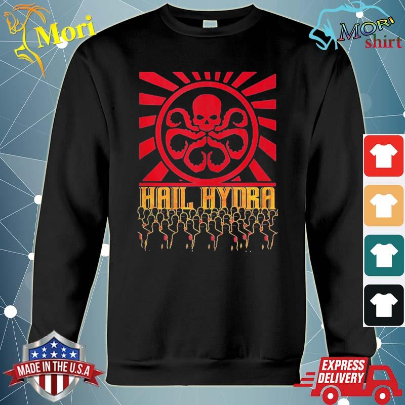 Marvel hail hydra propaganda rally logo poster s hoodie