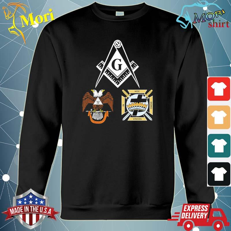 Mason scottish york rite masonic black down s hoodie