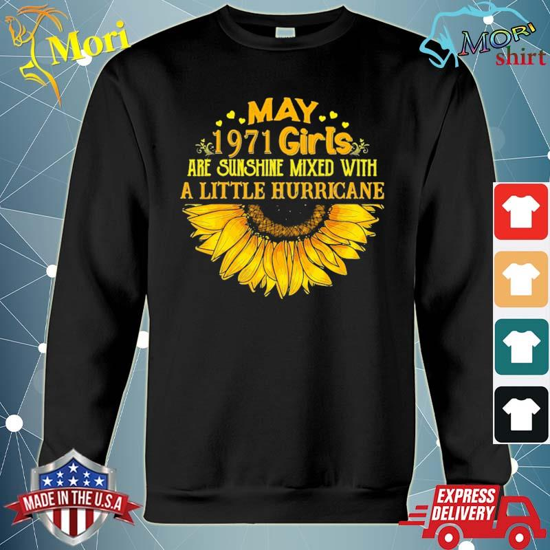 May girl 1971 50th birthday gift aniversary gift hoodie