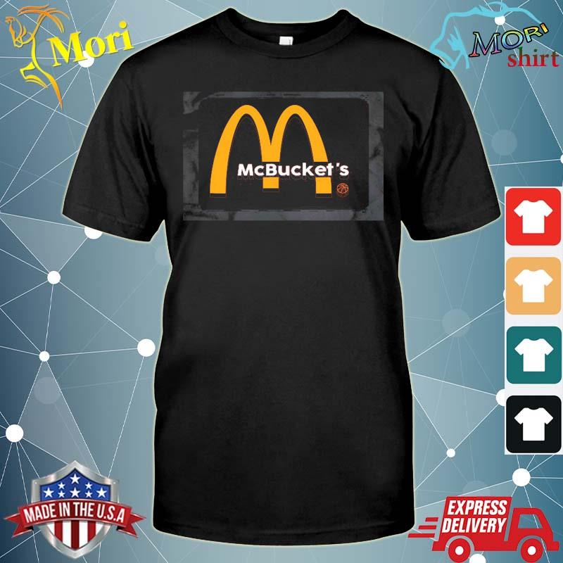 Mcbuckets funny logo basketball hooper shirt
