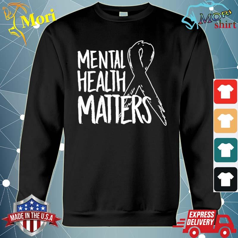 Mental health matters design suicide for awareness support s hoodie