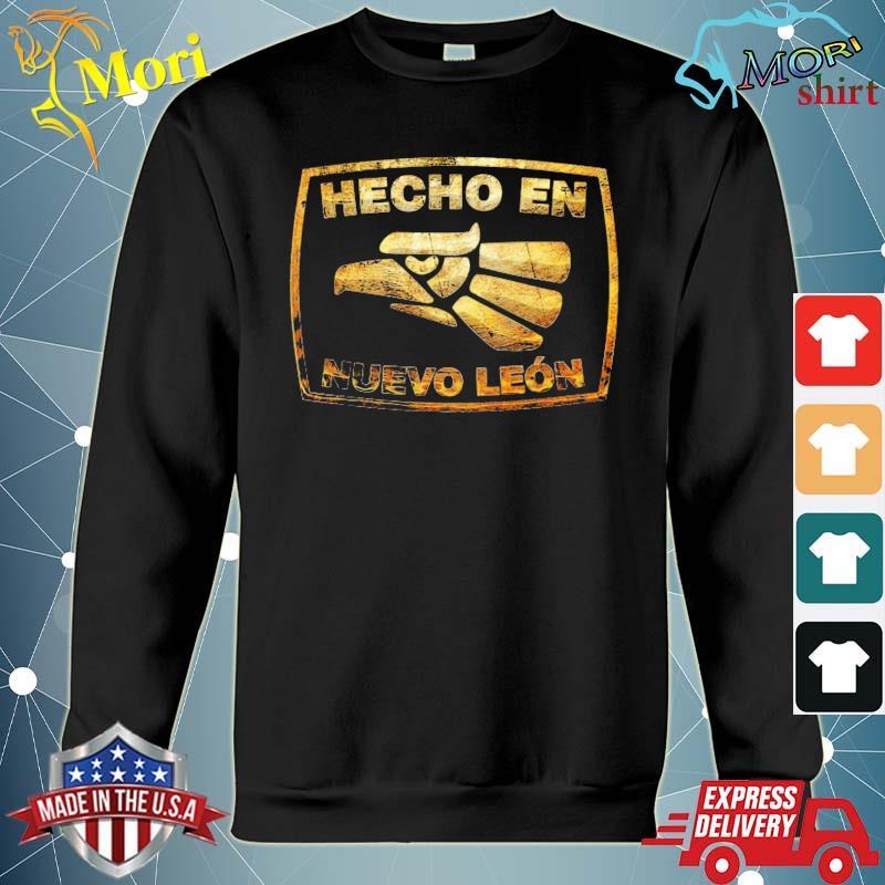 Mexican hecho en nuevo leon Mexico eagle emblem s hoodie