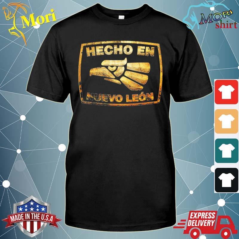 Mexican hecho en nuevo leon Mexico eagle emblem shirt
