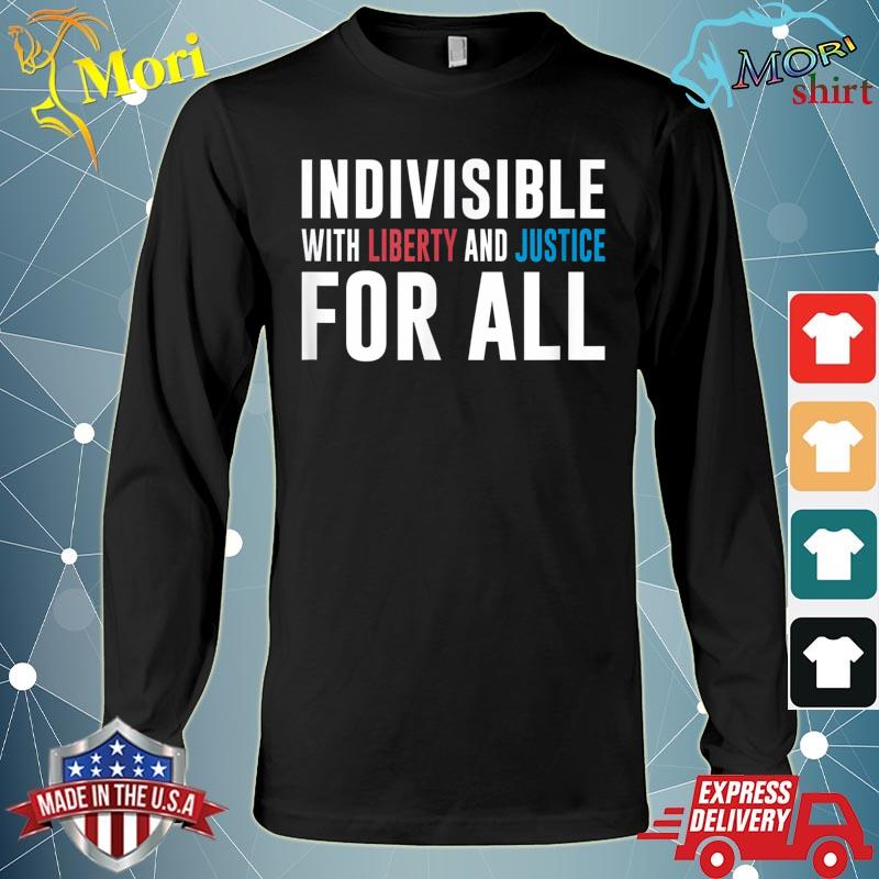 Official America Indivisible With Liberty and Justice For All s Long Sleeve