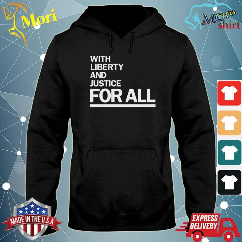 Official America With Liberty and Justice for all-Wright- t-s sweater
