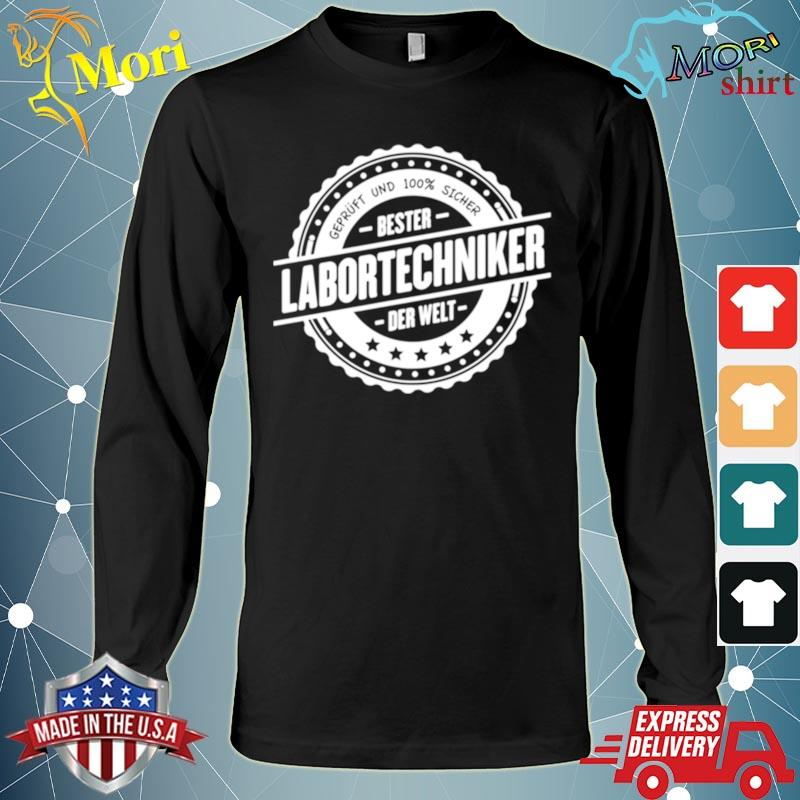 Top Laboratory Technician I Job Shirt Long Sleeve