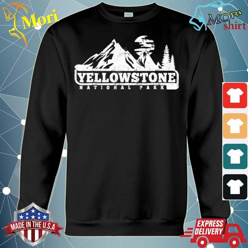 Yellowstone national park I love hiking wanderlust s hoodie