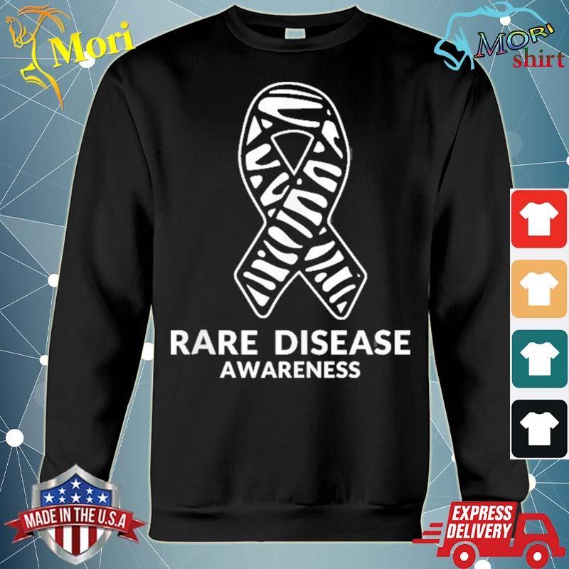 Zebra ribbon awareness rare disease s hoodie