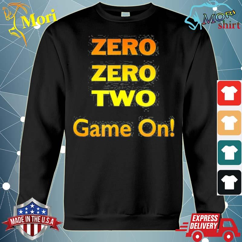 Zero zero two game on pickleball s hoodie