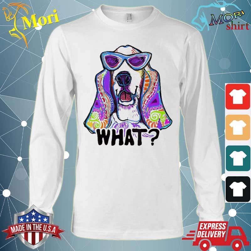 Basset Hound Design For Women With Basset Hounds, Gift, Dog Shirt Long Sleeve