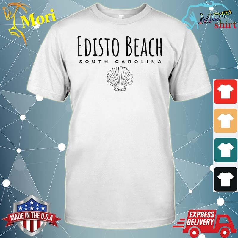 Edisto Beach Tee, S.Carolina Ocean Shell Shirt