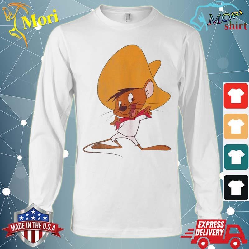 Looney Tunes Speedy Gonzales Red Hue Portrait Shirt Long Sleeve