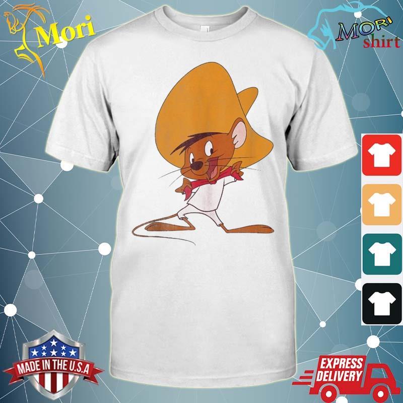 Looney Tunes Speedy Gonzales Red Hue Portrait Shirt