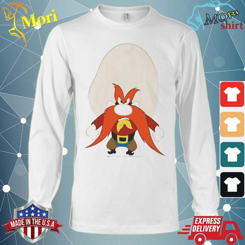 Looney Tunes Yosemite Sam Angry Portrait Shirt Long Sleeve
