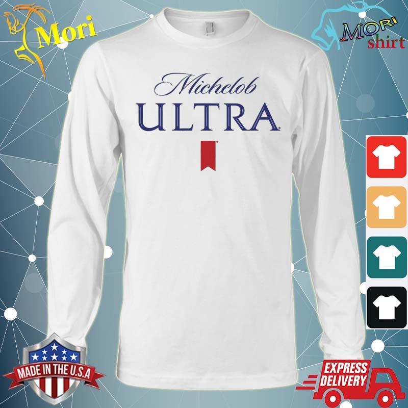 Michelob Ultra Logo Shirt Long Sleeve