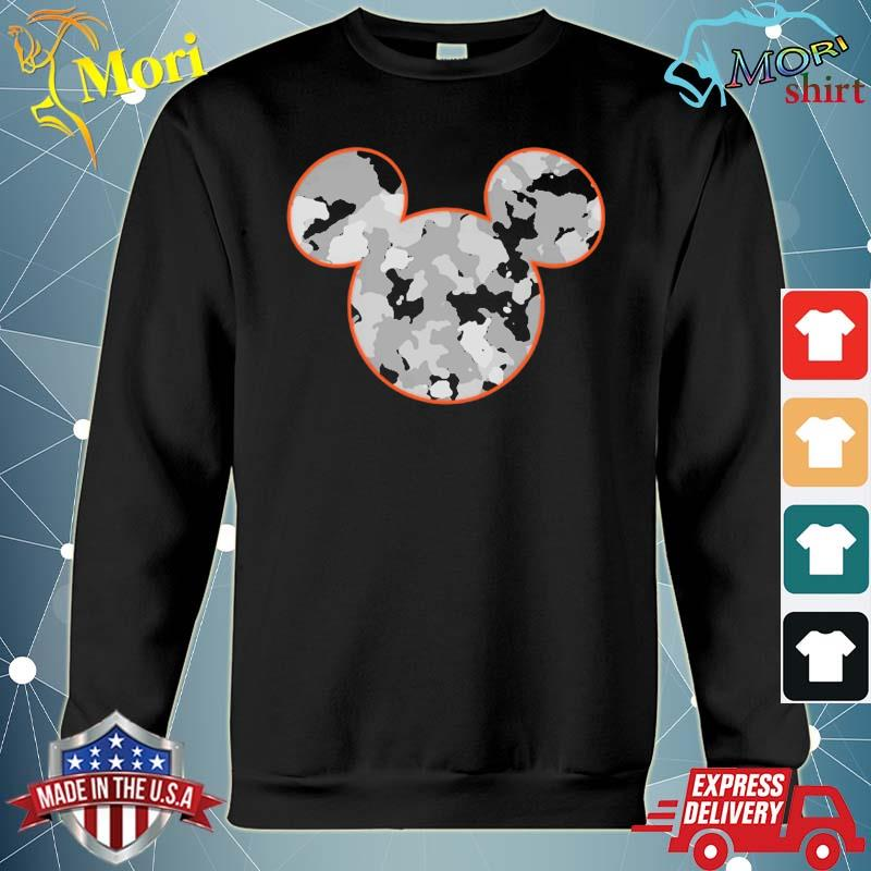 Mickey Mouse Camouflage Shirt hoodie