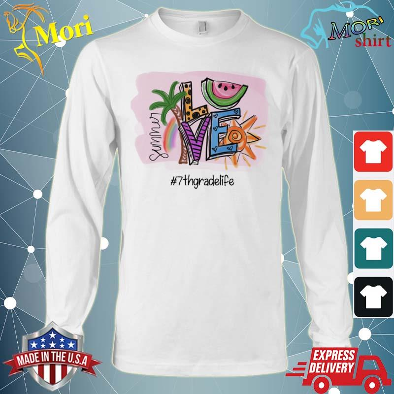 Official summer love #7th grade life s Long Sleeve