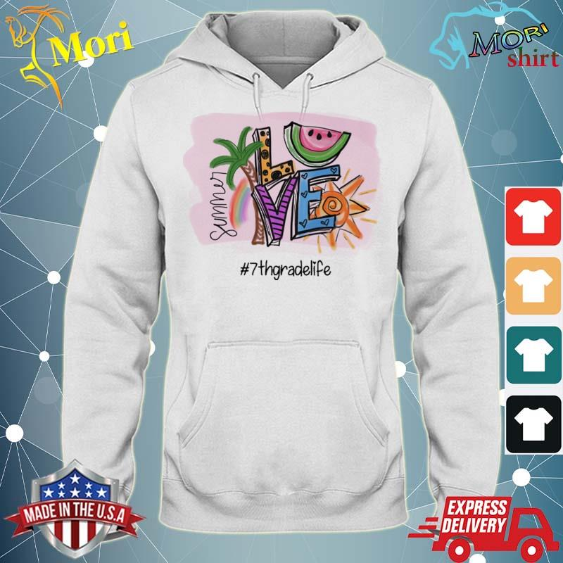 Official summer love #7th grade life s sweater