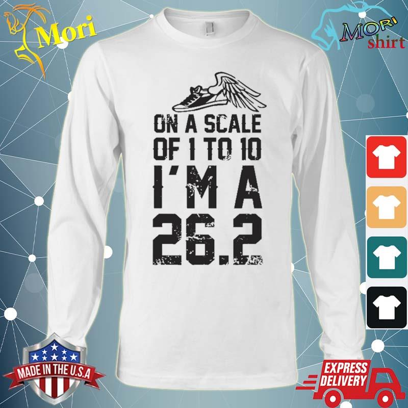 On A Scale Of 1 To 10 Cross Country Marathon Runner Gift Shirt Long Sleeve