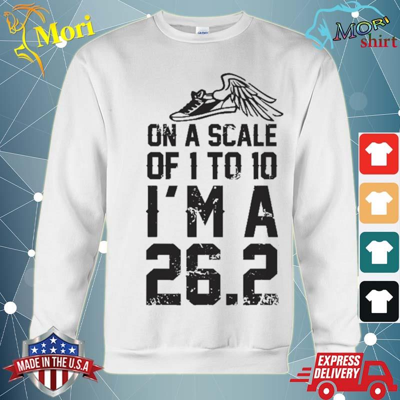 On A Scale Of 1 To 10 Cross Country Marathon Runner Gift Shirt hoodie