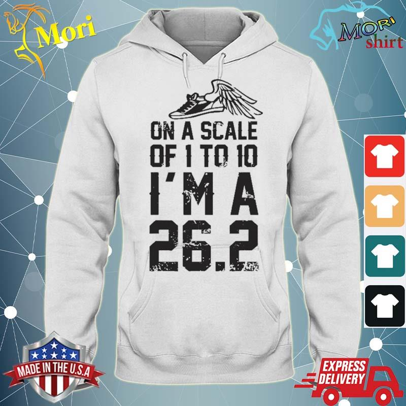 On A Scale Of 1 To 10 Cross Country Marathon Runner Gift Shirt sweater