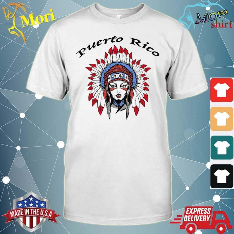 Puerto Rico Female Taino Indian Shirt