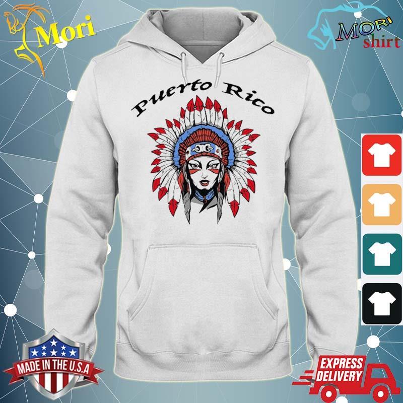 Puerto Rico Female Taino Indian Shirt sweater