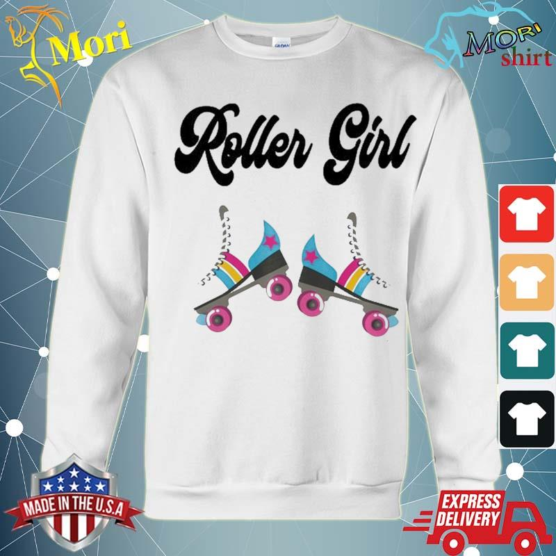 Retro Roller Skate Shirt Rolling Outfit 80'S Party Costume Shirt hoodie