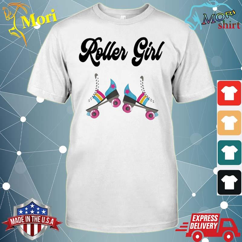 Retro Roller Skate Shirt Rolling Outfit 80'S Party Costume Shirt