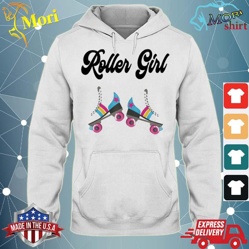 Retro Roller Skate Shirt Rolling Outfit 80'S Party Costume Shirt sweater