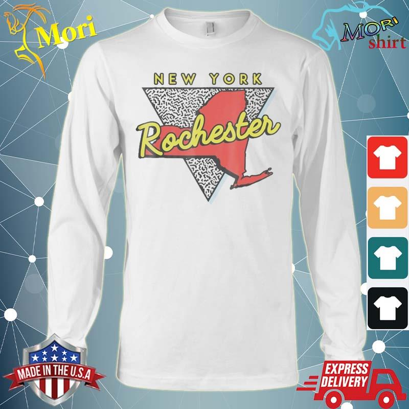 Rochester New York Vintage Triangle Shirt Long Sleeve