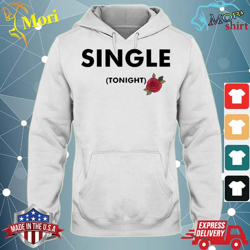 Single For Tonight Rose Motif Graphic Shirt sweater