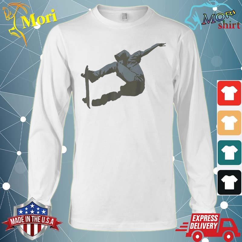 Skateboard Skate Outdoor Activity Shirt Long Sleeve